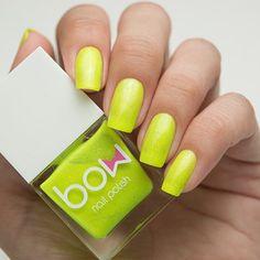 Bow Nail Polish - First Light