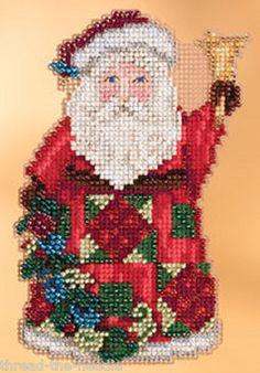 Jim Shore by Mill Hill 6 Christmas Santa Ornament Cross Stitch Kits New 2013 | eBay