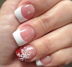 32 Best Christmas Nail Designs To Inspire