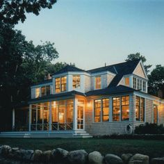 In the early 1990s best-selling author Judy Blume and her husband, George Cooper, bought a tranquil Martha's Vineyard plot and enlisted local architect Mark Hutker to create their dream summer getaway there (AD, September 1994). The dwelling is filled with warm touches like antique pine floorboards, an old-fashioned screened porch, and an elaborate stone fireplace by renowned mason Lew French.