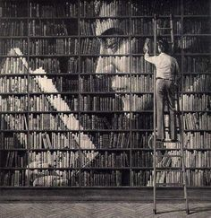 cool book shelves - Google Search