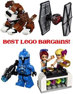 Best LEGO Bargains and Duplo Deals! ~ at TheFrugalGirls.com ~ stash away some fun Legos for birthday gifts or special day surprises for the kids!!