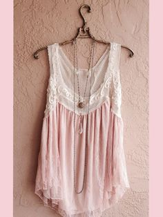 The neckline looks a tad but low for my liking but I love the idea here--and the necklace is adorable