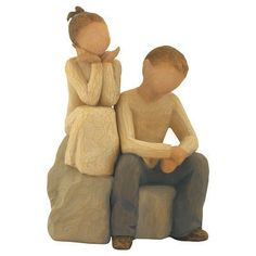 Brother And Sister Willow Tree Figurine