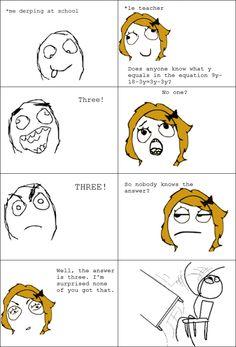 Algebra Rage