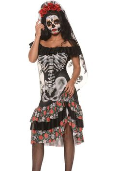 Costumes Halloween Soiree Reine Des Morts Cosplay MB89007-2 – Modebuy.com
