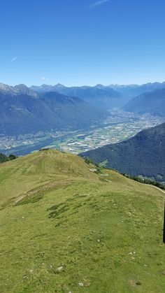 Monte Tamaro 3- Mountain views.