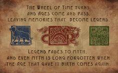 The Wheel of Time - Ta'veren Icon Wallpaper [1280x800] - Imgur