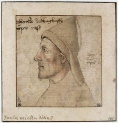 Portrait of man in profile by Paolo Uccello. Early Renaissance. portrait