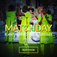 MATCHDAY 20:00 R. Antwerp - RWS Bruxelles #rwsbruxelles #rafc #proximusleague