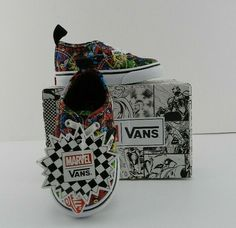 4a155bbf1dce7c New Limited Edition Marvel Vans Size 4.5 Girls Boys Sneakers Cartoon  VANS  Vans Limited Edition