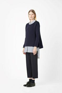 A-line sweatshirt
