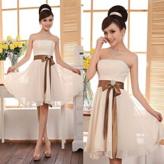 women formal champagne dresses