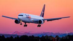 FDX Boeing 767-300 freighter (N108FE)