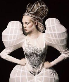 Avant Garde wedding dresses are