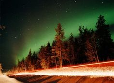 Lapland, Finland. I've already been to Finland (Helsinki and Vuokatti) but the inner child in me is dying to go to Lapland, to see the Northern Lights. And maybe the huskies and the reindeer too...    Image courtesy of igougo.com TimJim