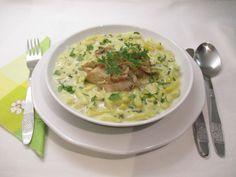 Zöldbabfőzelék Cheeseburger Chowder, Risotto, Soup, Ethnic Recipes, Soups