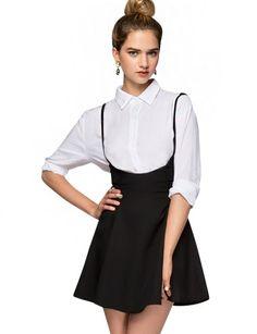 Pixie Market Camille Suspender Skirt - $38 #pixiemarket.com