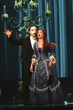 Ramin and Sierra in the Phantom of the Opera's 25th Anniversary