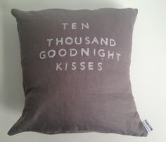 Ten Thousand Kisses Pillow - XOXO - Shops Uncovet