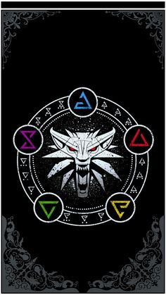 The Witcher Tattoo Wild Hunt The Witcher 3, The Witcher Wild Hunt, Witcher 3 Art, Black Wallpaper, Iphone Wallpaper, Witcher Tattoo, Witcher Wallpaper, Gaming Tattoo, Ciri