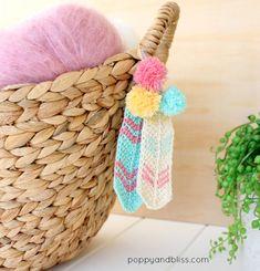 Tunisian crochet feathers free pattern