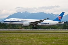 One of China Southern's Boeing 777F freighters  /  company courtesy