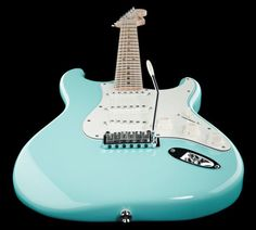 Fender Squier Deluxe Strat - Thomann www.thomann.de Colour: Daphne Blue #guitar #electricguitar #guitarist #blue