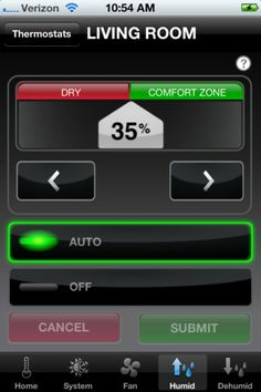 The Honeywell Total Connect Comfort iPhone mobile app allows users to remotely monitor and manage their heating and cooling system - at anytime, from anywhere.  http://www.loungelizard.com/mobile-app-development/#sthash.braxvVuF.dpuf