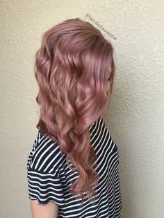 My Rose Gold Hair (Guy Tang Bronze Metallic) by Amanda Harsche