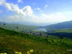 Jermuk Alpine mountains in Summer time with the view of Kechut Reservoir... by Armine Aghayan on 500px