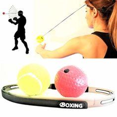 Vuoi rimettersi in forma? Questo Palla da Pugilato è una divertente alternativa al normale esercizio fisico e mantiene alti i livelli di concentrazione mentre brucia quelle calorie., Esercizio sempre e ovunque: la Palla da Pugilato (Boxing Reflex Ball) è facile da trasportare e può essere… Altri prodotti simili su Amazon.it Boxing Reflex Ball, Palla da […] Questa offerta Boxing Reflex Ball, Palla da Pugilato e da Combattimento per Migliorare velocità, Fitness, Reazione e coordinazion Speed Training, Boxing Training, Training Equipment, Mma Equipment, Fun Workouts, At Home Workouts, Portable Clothes Rack, Push Up Bars, Boxing Punches