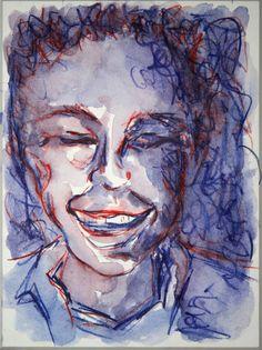 'Lachender 3' von funkyzoo bei artflakes.com als Poster oder Kunstdruck $15.68