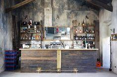 fonderie milanesi -  industrial vintage style interior restaurant milan - italianbark