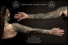 Sacred fire, Sacred geometry tattoo by Meatshop-Tattoo.deviantart.com on @deviantART