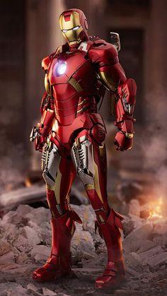 Iron Man Armor 4K iPhone Wallpaper - iPhone Wallpapers