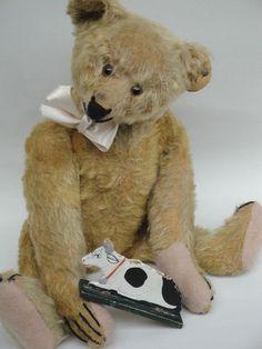 Antique Steiff Bears | Antique Expressive Steiff Teddy Bear 1920s Hunchback Bear Long F ...