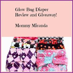 Enter to win one @Glow Bug Cloth Diapers