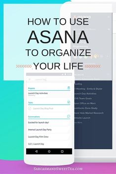 How to Use Asana to Organize Your Life Asana Project Management, Time Management Tips, Class Management, Filofax, Planners, Personal Development Books, Planning Your Day, Design Your Life, Life Organization