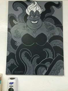 Tattooed Ursula by Robby Rotten