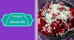 This raw vegan pie is perfect for a personal serving. You can use fresh or thawed frozen cherries or even organic pie filling (but it won't be raw) if that's what you prefer. Fully of nutty and fruity goodness that will surely satisfy your sweet tooth!