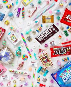 What are your favorite sweets? Share with us in the comments below! It surely is a candied heaven from ! Visit the REVUU App for exclusive fashion and lifestyle posts! Candy Art, Hershey Chocolate, Sugar Rush, Candy Colors, Winter Holidays, Holiday Parties, Mobile App, Sprinkles, Art For Kids