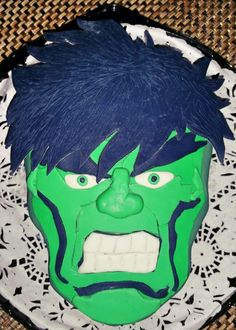 Pastel Tres leches. Hulk
