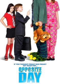 Dunya Tersine Donerse - Opposite Day - 2009 - DVDRip Film Afis Movie Poster