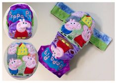 Peppa Pig Cloth Nappy from Peachy Bums Peppa Pig, Coin Purse, Christmas Ornaments, Holiday Decor, Christmas Jewelry, Christmas Decorations, Coin Purses, Christmas Decor
