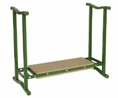 Midwest Gloves and Gear 53, Kneeler Bench by Midwest Glove and Gear. $34.99. Folds flat for easy storage. Comfortable padded foam seat and kneel panel. Square steel construction. Useful for sitting or kneeling. Great for Gardening. From the Manufacturer                Folds flat for compact storage. Dual usage: use either as a handy garden seat or turn upside down for a kneeler.                                    Product Description                Midwest Glove and Ge...