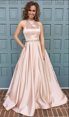 pink formal dress,ball gowns prom dresses,satin gowns,long prom #prom #promdress #dress #eveningdress #evening #fashion #love #shopping #art #dress #women #mermaid #SEXY #SexyGirl #PromDresses