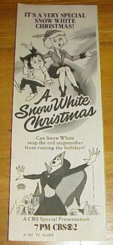 a snow white christmas - When Is White Christmas On Tv
