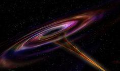Giả thuyết mới cho rằng vật chất khi đi qua khu vực mang tên điểm kỳ dị không - thời gian sâu bên trong hố đen sẽ bị kéo căng tới cực hạn, sau đó khôi phục hình dáng ở một vị trí khác. Lỗ sâu bên trong hố đen có thể thông tới thế giới khác trong vũ trụ.