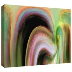 'Suculenta Polar' by Dean Uhlinger Painting Print Gallery-Wrapped on Canvas